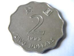 HONG KONG - 2 DOLLARS  1993. - Hong Kong