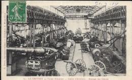 LE CREUSOT - Usines Schneider - Atelier D'Artillerie - Montage Des Canons (1654) - Le Creusot