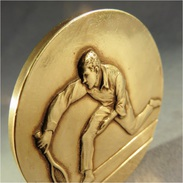 ~ MEDAILLE TENNIS F. FRAISSE - Sport Récompense Art Déco Sportif - Tennis