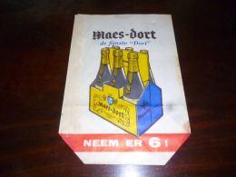 AA1-4 Sachet Emballage Bière Maes Dort Brasserie Brouwerij Maes - Autres Collections