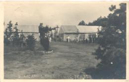 Ommen, Starkamp Dining Tents (originele Fotokaart Met Gelegenheidsstempel Sterkamp 1930) 2x Scan - Ommen