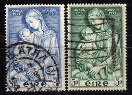 IRLAND 1954 - MiNr: 120-121 Komplett  Used - 1949-... Republik Irland