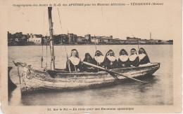 CPA - AK Soudan Sud Sudan ? Sur Nil Excursion Apostolique Soeurs N. D. Vénissieux Rhone Français Afrique Afrika Africa - Sudan