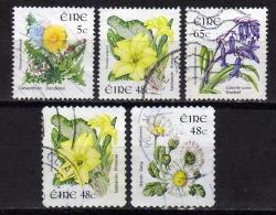 IRLAND Ab 2004 - Lot 5 Verschiedene Blumenausgaben  Used - 1949-... Republik Irland