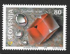 Slovenia: 1999 Minerals: Cinnabar  MNH - Slovénie