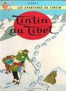 TINTIN AU TIBET - Tintin