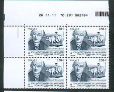 Faciale - 4553 Claude Bourgelat - Ecole Vétérinaire-   CD 26/01/11 - 2 Traits - 2010-....