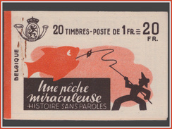 Belgium CA35a Peche Miraculeuse  Cote 250 - Carnet 1907-1941