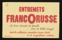 Buvard - ENTREMETS FRANCORUSSE - Blotters