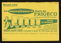 Buvard - FRIGECO - Toute La Gamme - Blotters