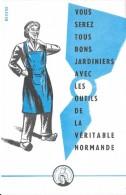 Vous Serez Tous Bons Jardiniers Avec Les Outils De La Véritable Normande - Buvards, Protège-cahiers Illustrés