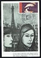 """Y/T N° 1830 Sur CM - ARPHILA 75 - Paris - """"L'Oeil"""" (5)  - 9.6.1975. - 1970-79"""