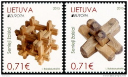 CEPT 2015 - Lithuania - Set 2  V Paper - MNH** - 2015