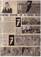 Le Chiffre Fetiche 7 Sept De St Saint  St-Pierre-Brouck Bistade Dunkerque SAINT PIERRE BROUCK Audruicq Bourbourg - Non Classificati