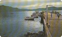 Mexico Zihuatanejo Guerrero - Amanecer - Quai Wharf - Mailed To Magog Québec - Stamp & Postmark - 2 Scans - Mexico