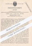Original Patent - Jos. Vivier , Jean Oor , Brüssel 1884 , Saitenspannvorrichtung Für Klaviere   Klavier , Piano , Musik - Historische Dokumente