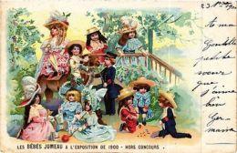 CPA PARIS EXPO 1900 - Les Bébés Jumeau Hors Concours (306390) - France