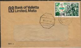MALTA 1983 - Beleg Mit MiNr: 691 Nach Wien - Malta