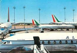 F-16 1684 :    ALITALIA AIRLINES DC 8 AND CARAVELLE JETS - 1946-....: Moderne