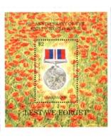 Ref. 290221 * MNH * - BARBADOS. 1995. 50th ANNIVERSARY OF THE END OF THE SECOND WORLD WAR . 50 ANIVERSARIO DEL FIN DE LA
