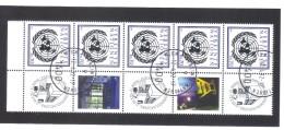 GUT1281 UNO WIEN  2012  MICHL 748 FÜNFERSTREIFEN  GRUSSMARKEN Siehe ABBILBUNG Used/gestempelt - Wien - Internationales Zentrum