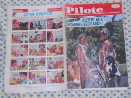 Pilote. N°16 (11/02/1960) Complet. Alerte Aux Hommes–léopards ! - Pilote