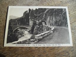 CPA De Guillaumes - Pont De Sauze - Les Tunnels, Route Des Alpes - Daté 1936 - Autres Communes