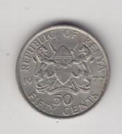 @Y@    50 Cents  1977     Kenya           (3239) - Kenia