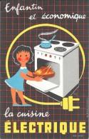 Enfantin Et économique La Cuisine Electrique - Electricité & Gaz