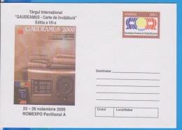 RADIO, BOOK ROMANIA GANZSACHE STATIONERY ENTIER