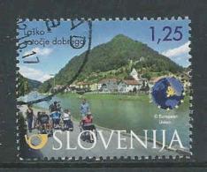 Slovenie, Yv 956 Jaar 2015,  Gestempeld, Zie Scan - Slovénie