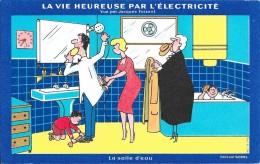 La Vie Heureuse Par L´électricité - La Salle D´eau - Electricité & Gaz