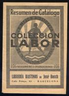 Barcelona *Colección Labor* 14 Pags. Meds: 107 X 153 Mms. - Publicidad