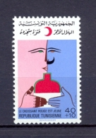 Tunisia/Tunisie 1976 - Stamp - The Tunisian Red Crescent - Tunisia (1956-...)