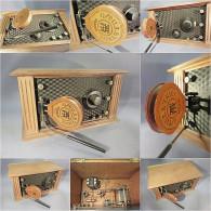 ~ POSTE RECEPTEUR SELF OSCILLATRICE TMR # Communication Musique TSF Radio - Apparatus