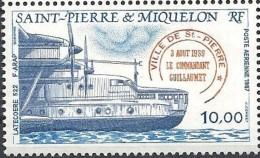 1987   Saint Pierre Et Miquelon  N° PA 65    Nf**. MNH . Latécoère 522 - Neufs