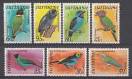 Surinam 1977  Mi.nr.: 764-770 Vögel  Neuf Sans Charniere / MNH / Postfris - Suriname