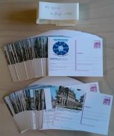 Germany 1984 / Ganzache / Postal Stationery / COMPLETE YEAR / 182 Pcs - [7] République Fédérale