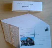 Germany 1992 / Ganzache / Postal Stationery / COMPLETE YEAR / 98 Pcs - [7] République Fédérale