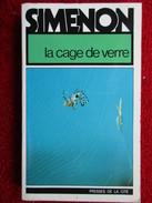 La Cage De Verre  (Georges Simenon)  éditions Presses De La Cité De 1979 - Simenon