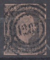 Preussen Minr.2 Gestempelt Nr.-St.1287 Saarlouis +50 Feuser - Preussen