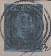Preussen Minr.3 Gestempelt Nr.-St.1622 Wetter + 20 Feuser - Preussen