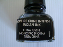 BOUTEILLE D´ENCRE DE CHINE INTENCE  PLEINE  13 ML - Altri
