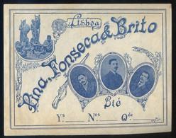 Lisboa *Pina, Fonseca & Brito* Meds: 109 X 138 Mms. - Publicidad