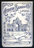 Lisboa *Athayde, Braga & Cta.* Meds: 100 X 142 Mms. - Publicidad