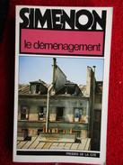 Le Déménagement (Georges Simenon)  éditions Presses De La Cité De 1978 - Simenon