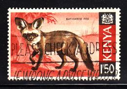 Kenya Used Scott #31 1.50sh Bat-eared Fox - Kenya (1963-...)
