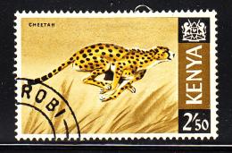 Kenya Used Scott #32 2.50sh Cheetah - Kenya (1963-...)