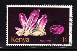 Kenya Used Scott #105 1sh Amethyst - Kenya (1963-...)