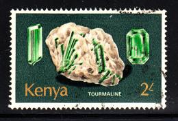 Kenya Used Scott #107 2sh Tourmaline - Kenya (1963-...)